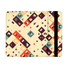 Squares In Retro Colors   Samsung Galaxy Tab Pro 12 2 Hardshell Case by LalyLauraFLM