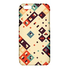 Squares in retro colors   Samsung Galaxy Note 4 Case (Color) by LalyLauraFLM