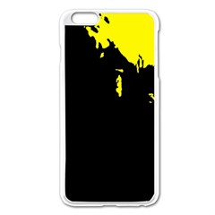 Abstraction Apple Iphone 6 Plus/6s Plus Enamel White Case by Valentinaart