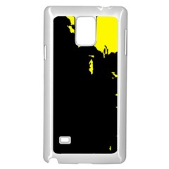 Abstraction Samsung Galaxy Note 4 Case (white) by Valentinaart