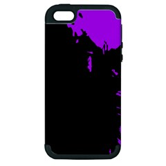 Abstraction Apple Iphone 5 Hardshell Case (pc+silicone) by Valentinaart
