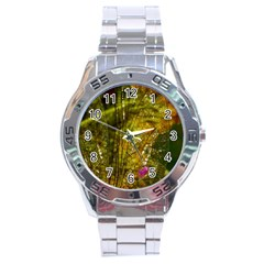 Dragonfly Dragonfly Wing Insect Stainless Steel Analogue Watch by Nexatart