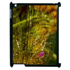 Dragonfly Dragonfly Wing Insect Apple Ipad 2 Case (black) by Nexatart
