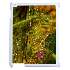 Dragonfly Dragonfly Wing Insect Apple Ipad 2 Case (white) by Nexatart