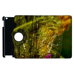 Dragonfly Dragonfly Wing Insect Apple Ipad 2 Flip 360 Case