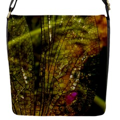 Dragonfly Dragonfly Wing Insect Flap Messenger Bag (s) by Nexatart
