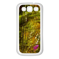 Dragonfly Dragonfly Wing Insect Samsung Galaxy S3 Back Case (white)