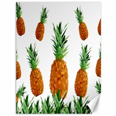 Pineapple Print Polygonal Pattern Canvas 36  X 48