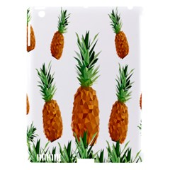 Pineapple Print Polygonal Pattern Apple Ipad 3/4 Hardshell Case (compatible With Smart Cover)