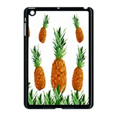 Pineapple Print Polygonal Pattern Apple Ipad Mini Case (black) by Nexatart