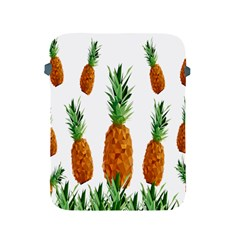 Pineapple Print Polygonal Pattern Apple Ipad 2/3/4 Protective Soft Cases by Nexatart