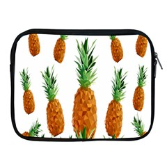 Pineapple Print Polygonal Pattern Apple Ipad 2/3/4 Zipper Cases by Nexatart