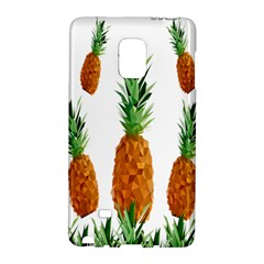 Pineapple Print Polygonal Pattern Galaxy Note Edge by Nexatart