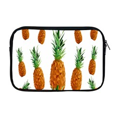 Pineapple Print Polygonal Pattern Apple Macbook Pro 17  Zipper Case