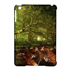 Red Deer Deer Roe Deer Antler Apple Ipad Mini Hardshell Case (compatible With Smart Cover) by Nexatart