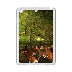 Red Deer Deer Roe Deer Antler Ipad Mini 2 Enamel Coated Cases