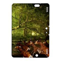 Red Deer Deer Roe Deer Antler Kindle Fire Hdx 8 9  Hardshell Case