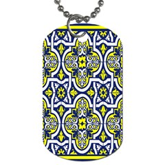 Tiles Panel Decorative Decoration Dog Tag (two Sides) by Nexatart