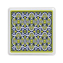Tiles Panel Decorative Decoration Memory Card Reader (square)  by Nexatart