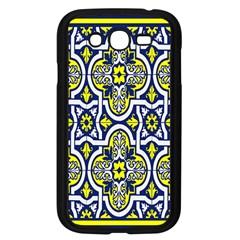 Tiles Panel Decorative Decoration Samsung Galaxy Grand Duos I9082 Case (black) by Nexatart
