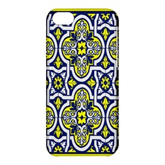 Tiles Panel Decorative Decoration Apple Iphone 5c Hardshell Case by Nexatart