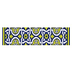 Tiles Panel Decorative Decoration Satin Scarf (oblong) by Nexatart