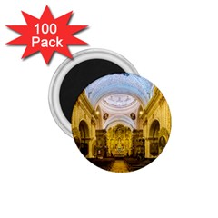Church The Worship Quito Ecuador 1 75  Magnets (100 Pack)  by Nexatart
