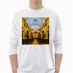 Church The Worship Quito Ecuador White Long Sleeve T Shirts by Nexatart