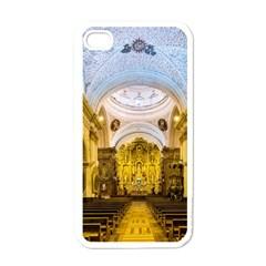 Church The Worship Quito Ecuador Apple Iphone 4 Case (white) by Nexatart