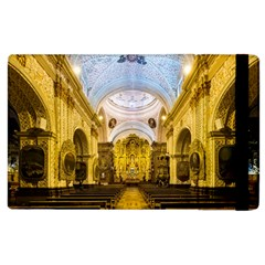 Church The Worship Quito Ecuador Apple Ipad 2 Flip Case by Nexatart