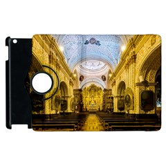 Church The Worship Quito Ecuador Apple Ipad 3/4 Flip 360 Case by Nexatart