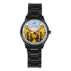 Church The Worship Quito Ecuador Stainless Steel Round Watch by Nexatart