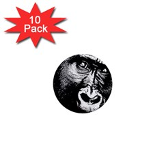 Gorilla 1  Mini Magnet (10 Pack)  by Valentinaart