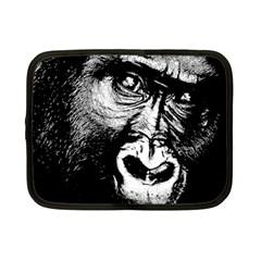 Gorilla Netbook Case (small)  by Valentinaart