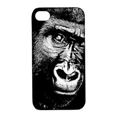Gorilla Apple Iphone 4/4s Hardshell Case With Stand by Valentinaart