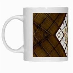 Steel Glass Roof Architecture White Mugs by Nexatart