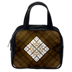 Steel Glass Roof Architecture Classic Handbags (one Side) by Nexatart