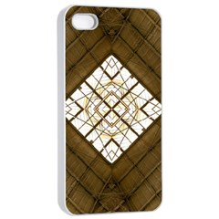 Steel Glass Roof Architecture Apple Iphone 4/4s Seamless Case (white)