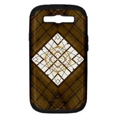 Steel Glass Roof Architecture Samsung Galaxy S Iii Hardshell Case (pc+silicone)
