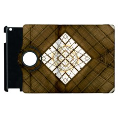 Steel Glass Roof Architecture Apple Ipad 2 Flip 360 Case