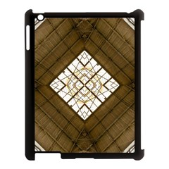 Steel Glass Roof Architecture Apple Ipad 3/4 Case (black) by Nexatart