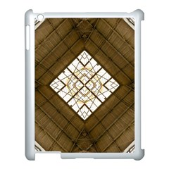 Steel Glass Roof Architecture Apple Ipad 3/4 Case (white) by Nexatart