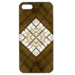 Steel Glass Roof Architecture Apple Iphone 5 Hardshell Case With Stand by Nexatart