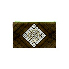 Steel Glass Roof Architecture Cosmetic Bag (xs)