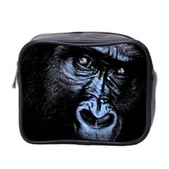 Gorilla Mini Toiletries Bag 2 Side by Valentinaart