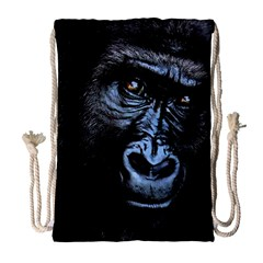 Gorilla Drawstring Bag (large) by Valentinaart