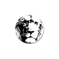 Lion  Golf Ball Marker (4 Pack) by Valentinaart