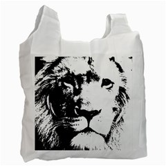 Lion  Recycle Bag (one Side) by Valentinaart