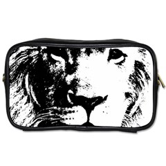 Lion  Toiletries Bags by Valentinaart