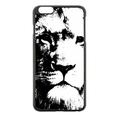 Lion  Apple Iphone 6 Plus/6s Plus Black Enamel Case by Valentinaart